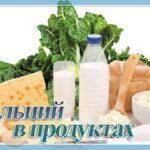 Какие продукты богаты кальцием, особенности усвоения