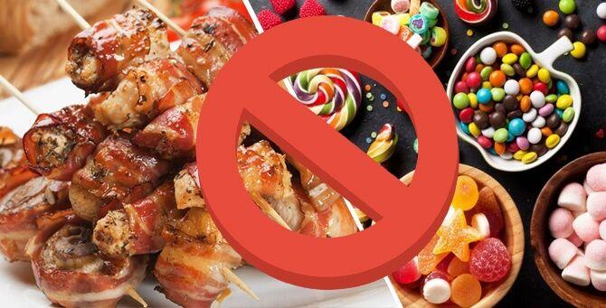 Запрещенные при катаральном гастрите продукты