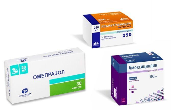 Препараты для лечения гастродуоденита