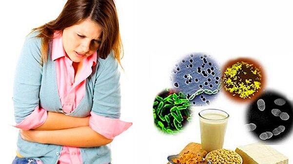 Пищевое отравлении при лактации